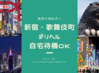 【10選】新宿・歌舞伎町で自宅待機OKのデリヘルの求人まとめ